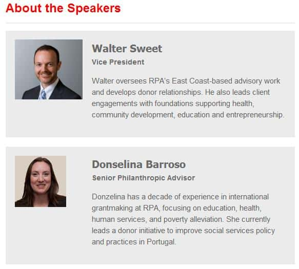 AVPN Event Breakfast Speakers