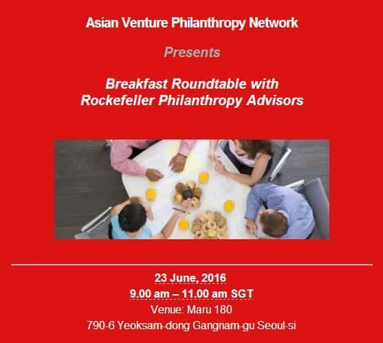 AVPN Event Breakfast