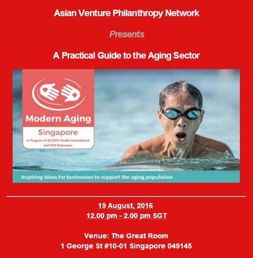 Event AVPN Aging Sector