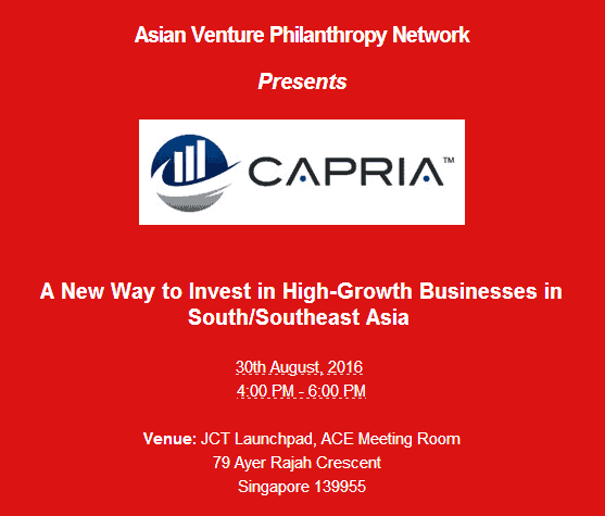 AVPN Event A New Way to Invest in High-Growth Business