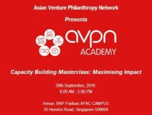 Event AVPN Capacity Building Masterclass
