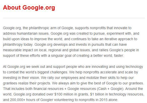 Event Dining with Google About