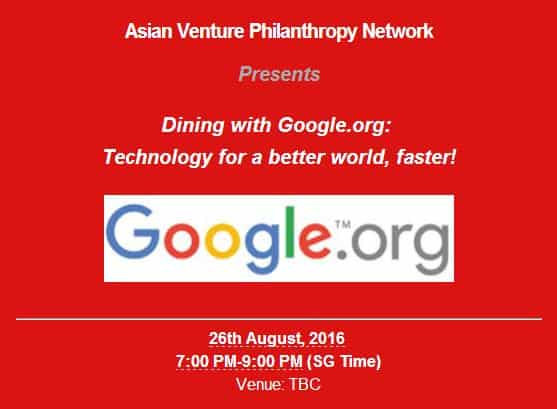 Event Dining with Google