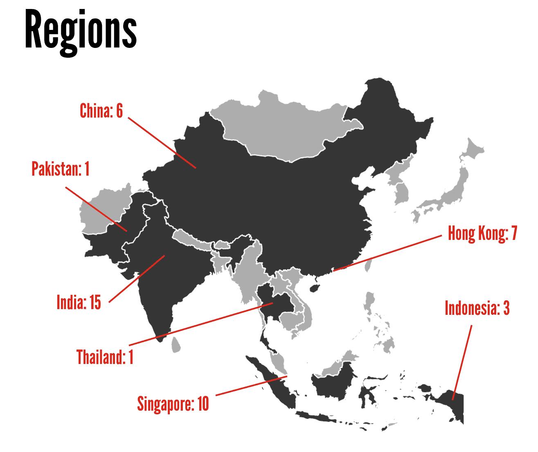 Regions (Greyscale)