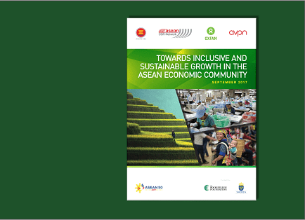 Towards Inclusive and Sustainable Growth in the ASEAN Economic Community