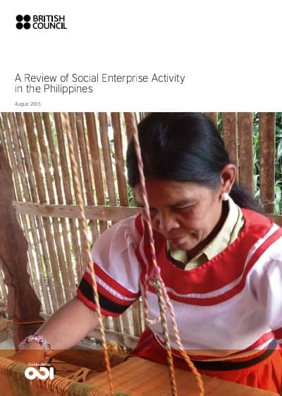 A Review of Social Enterprise Activity in the Philippines