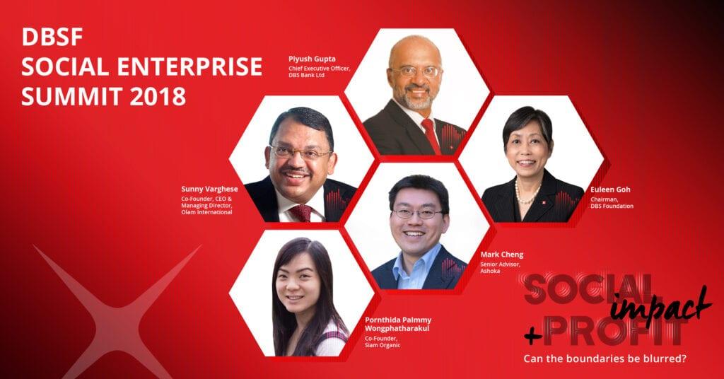 DBSF Social Enterprise Summit Social Impact + Profit: Can