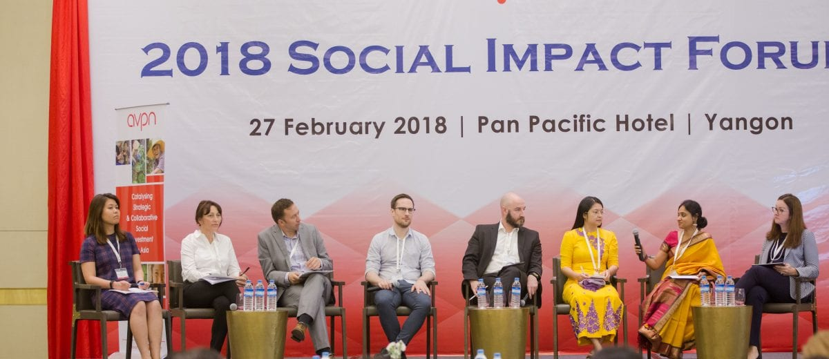 AVPN Myanmar Social Investment Forum_Full Panel