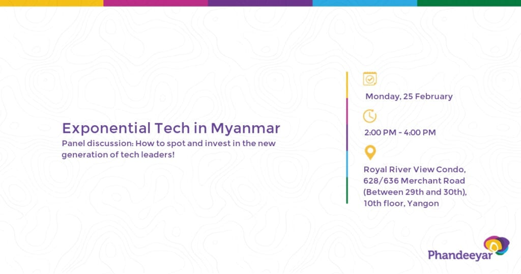Exponential Tech in Myanmar_Phandeeyar