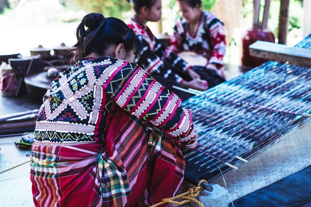 Weavers in Philippines