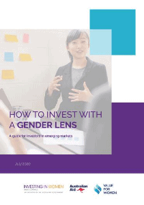 Value for Women How to Invest with a Gender Lens