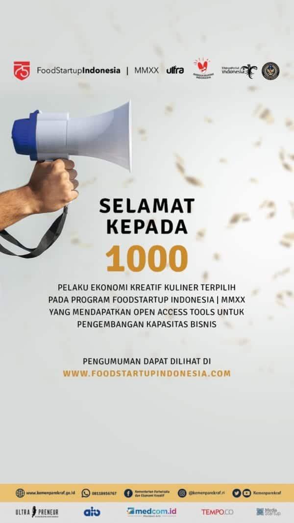 Foodstartup Indonesia MMXX
