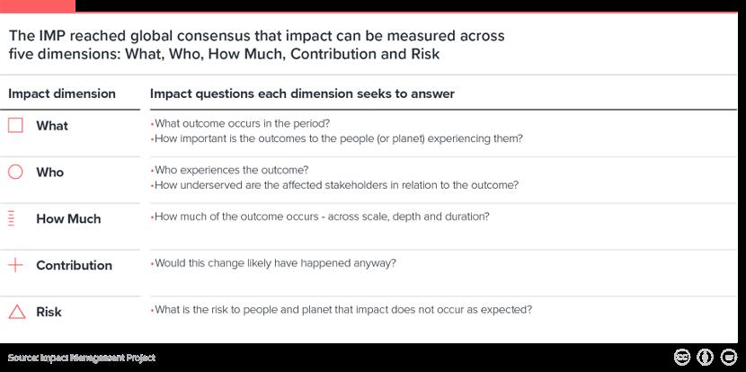 IMP's five dimensions