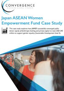 """""""Japan ASEAN Women Empowerment Fund Case Study"""