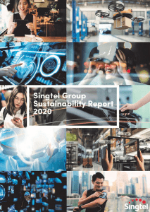 Singtel Group Sustainability Report 2020