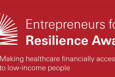 Entrepreneurs for Resilience Award 2021