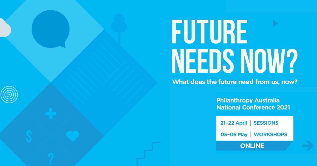Philanthropy Australia National Conference 2021