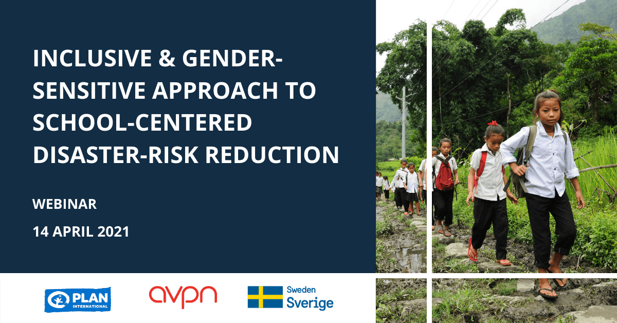 Inclusive and gender sensitive approach to DRR_Simple Banner