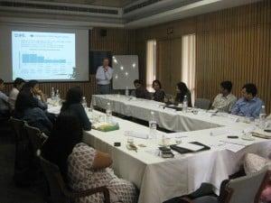 Discussions at Delhi segment of workshop