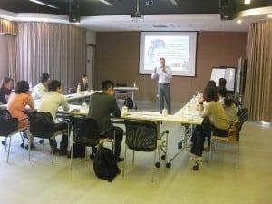 Workshop session in Shanghai